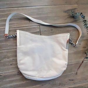 Michael Kors Vanilla Medium Shoulder Bag